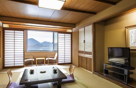 湖畔亭 和室一例